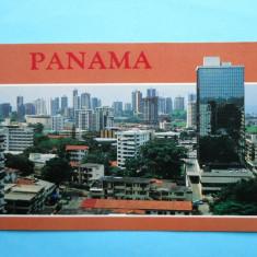 MOKAZIE !!!! HOPCT 8111 PANAMA -CLADIRI INALTE, America Centrala si de Sud, Necirculata, Printata
