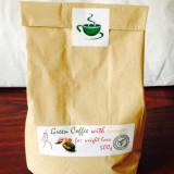 cafea verde cu ghimbir