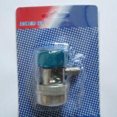 Cupla rapida clima auto, joasa presiune, cu robinet - Compresoare aer conditionat auto ABE, Dacia, LOGAN MCV (KS) - [2007 - 2013]