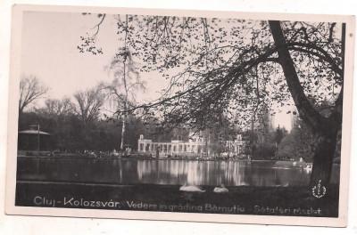 #carte postala(foto)-CLUJ-Vedere din gradina Barnutiu foto