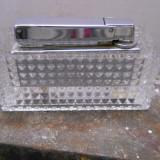 Bricheta din cristal, Rowenta, 8,5x3cm., inalt. 4 cm/