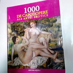 1000 DE CAPODOPERE ALE ARTEI EROTICE - Editura Aquila - Album Arta