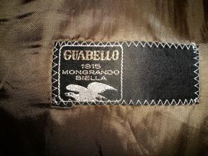 Sacou modern, David Burnett cu stofa Guabello, 100% original