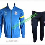 Trening NIKE FC STEAUA BUCURESTI - Bluza si Pantaloni Conici - Pret special - - Trening barbati, Marime: S, Culoare: Bleu