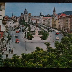 CP - Vedere - Targu Mures - circulata 1966