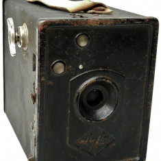 APARAT RAR DE FOTOGRAFIAT - TIP CUTIE, MARCA AGFA BOX B2, VECHI DIN ANUL 1932! - Aparat de Colectie