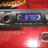 MP3 PLAYER auto + RADIO citeste de pe STICK si card SD si MICROSD cu TELECOMANDA