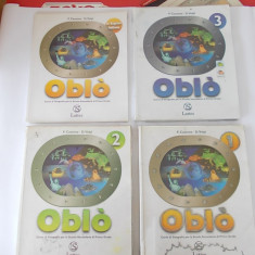 OBLO LATTES , LIMBA ITALIANA .1,2,3,  LA REGIONI  ITALIANO ,CURS DE GEOGRAFIE PENTRU SCOLA SECUNDARA   F.CASSONE SI D.VOLPI .