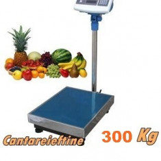CANTAR PLATFORMA 300 KG PROFESIONAL DIGITAL ELECTRONIC CU ACUMULATOR INCLUS.