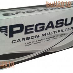 Tuburi PEGASUS CU CARBON activ/ tuburi tigari injectat tutun/tabac/filtre tigari - Filtru tutun