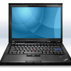 Laptop Lenovo ThinkPad T400, P8600 2.4 GHz, 2 GB DDR3, Diagonala ecran: 15, Intel Core 2 Duo, 160 GB, Fara sistem operare