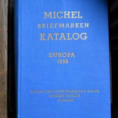 Michel Briefmarken Katalog Europa 1958 (Catalog de marci postale)