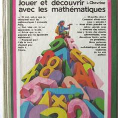 """JOUER ET DECOUVRIR AVEC LES MATHEMATIQUES"", V.Jitomirski / L.Chevrine, 1987 - Manual scolar, Clasa 1, Limbi straine"