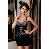 Corset Couture Gotic LC5267-2, Marime: Alta, M