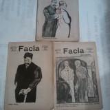 REVISTA FACLA 1912 ~ 7, 21 si 28 ianuarie, Nr.1, 3 si 4 \ 1912 ~ - Revista culturale