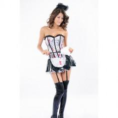 Costum Halloween menajera LC8630