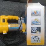 Compresor Auto priza bricheta masina de umflat roti mingii saltele