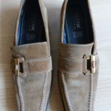 Pantofi Geox Respira, 100% piele naturala; marime 38 (25.2 cm talpic interior)
