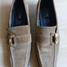 Pantofi Geox Respira, 100% piele naturala; marime 38 (25.2 cm talpic interior) - Pantof dama Geox, Culoare: Din imagine, Cu talpa joasa