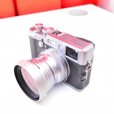 FUJIFILM x100 cu folie de protectie si firmware la zi + LENTILA DE CONVERSIE (echivalent 28mm pe full frame) - Aparat Foto compact Fujifilm
