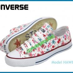 Tenisi Converse All Star - Modele noi HAWAI - Modele florale - Pret special - - Tenisi dama, Culoare: Din imagine, Marime: 37, 38, 39, 40