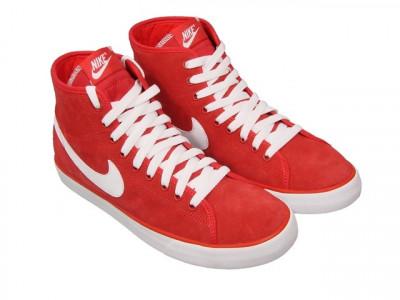Adidasi barbat Nike Primo Court Mid - ghete originale - ghete piele foto