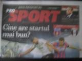 Steaua Bucuresti - Astra Giurgiu (Supercupa Romaniei) / supliment Prosport / iulie 2014
