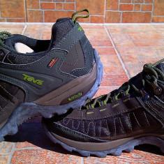 Pantofi sport - trekkingTeva Raith eVent, marimea 42 - Pantofi barbat Teva, Culoare: Khaki, Piele sintetica