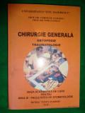 Chirurgie generala.Ortopedie.Traumatologie ( cu numeroase figuri)-Corneliu Zaharia,Mihai Ghiur