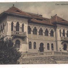#carte postala(ilustrata)-SIBIU-SALISTE-Casa nationala - Carte Postala Transilvania dupa 1918