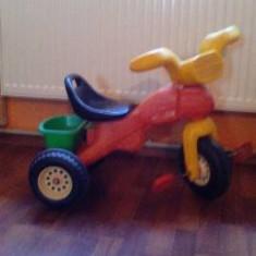 Triciceta copii - Tricicleta copii, 2-4 ani, Unisex, Rosu