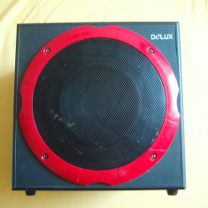 MULTIMEDIA SPEAKER SYSTEM DELUX MODEL DLS - 2101 - Boxe PC, In Subwoofer