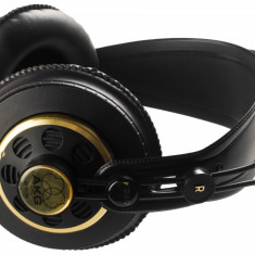 Casti AKG k240 Studio, Casti Over Ear, Cu fir, Mufa 3, 5mm, Active Noise Cancelling