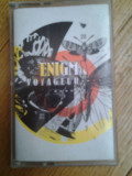 Caseta audio Enigma - Voyageur originala ambient experimental electronic electro chillout synth Gregorian chants Michael Cretu Romania