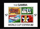 GAMBIA 1982 FOOTBAL CUPA MONDIALA