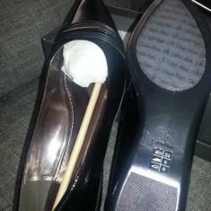 Pantofi Calvin Klein noi - Pantof dama Calvin Klein, Culoare: Negru, Marime: 39