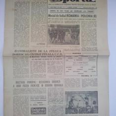 Ziarul Sportul 6 aprilie 1977