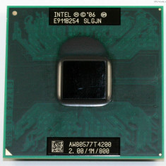 Intel Pentium T4200 2.0GHz 1MB 800 FSB,Socket P 478 p478 hp compaq cq61 cq60 etc
