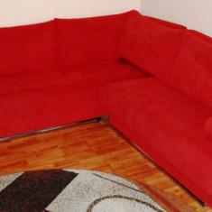Coltar extensibil - culoare rosu