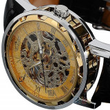 CEAS LUXURY SKELETON, GOLD EDITION  + cutie cadou, Lux - elegant, Mecanic-Manual, Inox