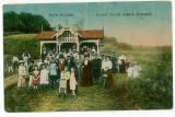 1818 -  Dambovita, BAILE VULCANA - animee - old postcard - used - 1921