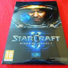 Joc Starcraft II Wings of Liberty, PC, original si sigilat, 49.99 lei! - Jocuri PC Altele, Role playing, 16+, MMO