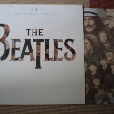 The beatles 20 greatest hits lp disc vinyl muzica rock n roll beat rock yugoton, VINIL