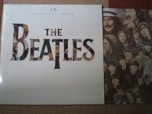 beatles 20 greatest hits compilatie disc vinyl lp muzica rock yugoslavia jugoton