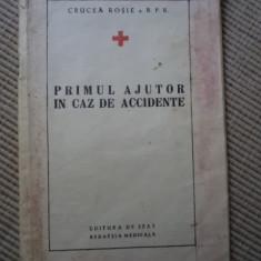 Primul ajutor in caz de accidente ed de stat redactia medicala curcea rosie rsr