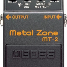 BOSS MT-2 Metal Zone - Efect Chitara