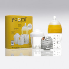 Set complet de hranire YOOMI 240ml (biberon + incalzitor + Pod) - Incalzitor Biberon Altele, Mixt