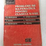 PROBLEME DE MATEMATICA PENTRU CLASELE V-VIII