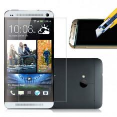 Folie protectie ecran antisoc Tempered Glass HTC ONE 2 M8 + expediere gratuita