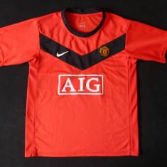 Tricou Nike Sphere Dry Manchester United; marime XL adolescenti (un S barbati) - Tricou barbati Nike, Marime: S, Culoare: Din imagine